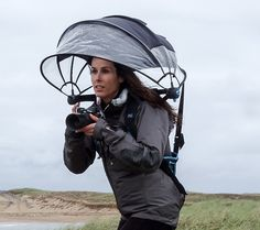 """""""Nubrella"""" Is a Wearable Umbrella That Keeps You and Your Gear Dry When Shooting in the Rain 