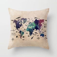 18-039-039-Map-polyester-cushion-cover-sofa-car-waist-pillow-case-cover-Home-Decor