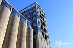 Silo Billboard, Multi Story Building, Poster Wall, Signage, Poster