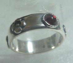 2 left- Ring #12- SV925- Red Swarovski - Howl's Moving Castle - Museum gift wrap&bag-made Japan(new)