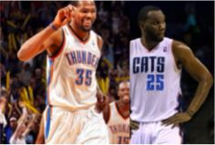 Kevin Durant, Al Jefferson Named NBA Players of the Month for March