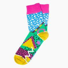 0ef2c12e7d61 TIKI - Fun Sparkle Socks, Zigzag socks for men, Pattern socks for wome,  Geometric Socks, Funky womens socks, Fun mens socks