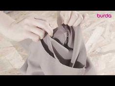 Wszywanie rękawa - YouTube