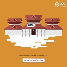India's largest chain of Budget hotels, OYO Rooms now also in Guruvayur. #BudgetHotelsinGuruvayur