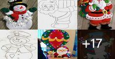 CURSOS GRATIS DE MANUALIDADES DE MANUALIDADES- DIPLOMADO Navidad Diy, Advent Calendar, Snowman, Holiday Decor, Disney Characters, Home Decor, Ely, Xmas, Arts Plastiques