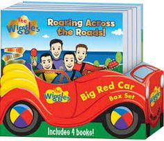 Car box! Leaves a toy to play with when books are removed.