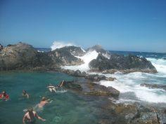 Natural Pools in Aruba