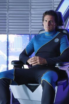 """Guest Star Ed Quinn on the Set of Castle Season 5, Episode 6: """"The Final Frontier"""" Castle Series, Castle Tv Shows, Jonathan Frakes, Castle Season, The Final Frontier, Men In Uniform, Hollywood Stars, Favorite Tv Shows, Movie Tv"""