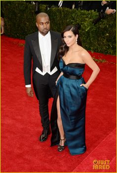 Kim Kardashian & Kanye West Hit the Right Notes Met Ball 2014