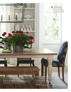Kitchen Eating Areas, Dining Bench, Furniture, Home Decor, Decoration Home, Table Bench, Room Decor, Home Furnishings, Home Interior Design
