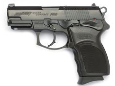 Bersa Thunder 9 Ultra Compact Pro, great pistol for lefties.