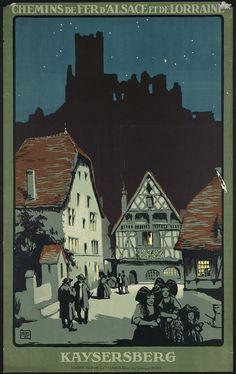 Kasersberg - Chemins de fer d'Alsace et de Lorraine