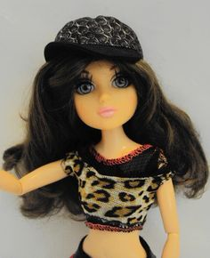 """Moxie Teenz Tristen   Doll 14 """" Articulated  Violet Eyes   Liv Wig Dressed #DollswithClothingAccessories"""