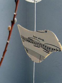 Song birds I plan to make as a mobile :)