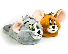 Tom & Jerry Slippers   Cartoon Character Slippers   BunnySlippers.com