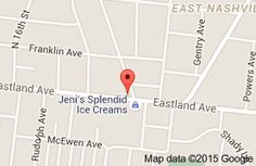 Map of Eastland Cafe  Nashville