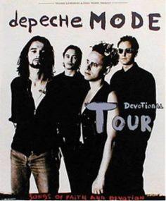 Depeche Mode, Ahoy Rotterdam, 1 June1993