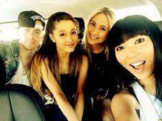 Ariana and bestfriends