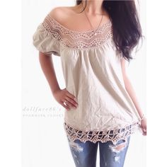 """Dark Taupe Beautiful Lace Trim Boho Top This top has a really gorgeous & unique lace trim with cap sleeves & a billowy body. It's whimsical & elegant {actual color of item may vary slightly from photos}  •shoulders:25"""" •chest:23"""" •waist:22.5""""w •length:27.5"""" •sleeve:8""""  Material:100%cotton ️machine wash  Fit:true Condition:no rips no stains  ❌no holds ❌no trades ♥️️bundles of 3/more items get 20% off Tops Blouses"""