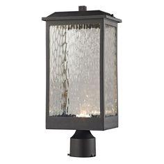 Elk Lighting Newcastle 45204/LED Outdoor Post Lantern - 45204_LED