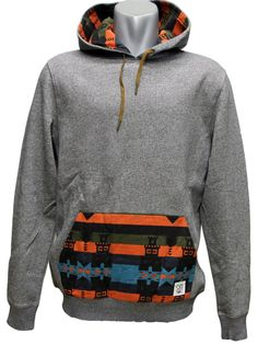 Crooks & Castles Mayan Hooded Pullover Black / True Red