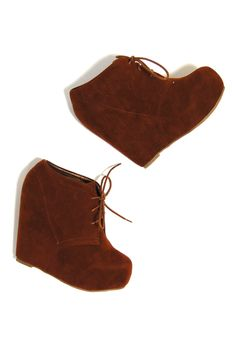 Chestnut Platform Bootie - $46.99 : Spotted Moth, Chic and sweet clothing and accessories for women