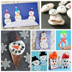 Who would love to make a snowman craft? I'm always up for that! We do monthly craft challenges with some of the most amazing crafty ladies out there and this month it was all about snowman crafts! So grab your craft supplies and get ready to make some cute snowmen, all of these are super …