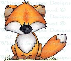 Rizzo - Woodland - Animals - Rubber Stamps - Shop