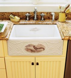 sinks bhg4. Incorporating Artistic Details