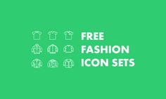 The Best 8+ Free Fashion Vector Icon Sets