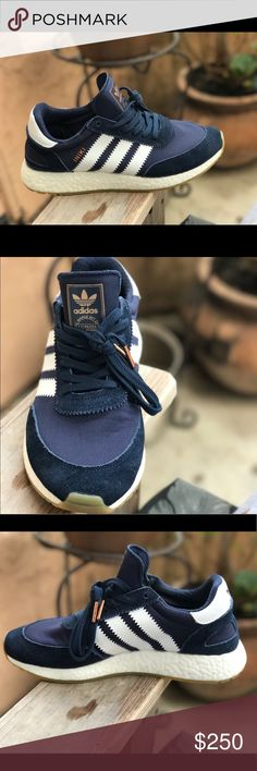 dea02b809 Adidas Iniki Boost Collegiate Navy Men s 7 Literally the best condition  next to dead stock. Men s size Comes with the original box.