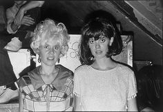 B 52´s  Kate Pierson e Cindie Wilson I Love their expression full of humour !!