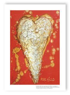 Har lige købt denne smukke hjerte kunstplakat til fordel for; Familier med kræftramte børn Kunsttryk udført efter original maleri af Per Hillo. Ved at købe dette har du støttet foreningen, Familier med kræftramte børn. #hjerte #perhillo #familiermedkræftramtebørn