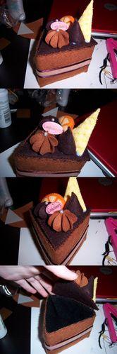 Choco Cake Jewelery Box *EDIT: LINK TO TUT!* - JEWELRY AND TRINKETS