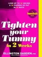 Tighten your tummy in 2 weeks : lose up to 14 inches & 14 pounds of fat in 14 days!