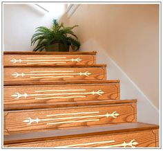 Decorating Stair Risers | Stairfaces   Decorative Stair Risers, Crafted  From Hardwood, Such As