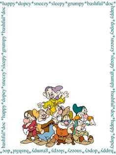 This photo was uploaded by DisneyRoni. Seven Dwarves