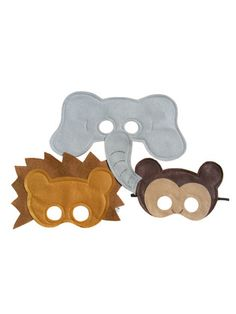 Love this! A monkey, elephant and lion?!