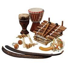 African instruments collection