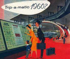 Trip - a - matic retro futurism