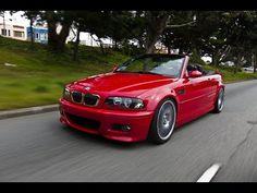 #BMW #E46 #M3 #Convertible #Red #Devil