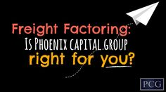 PCG offers truck drivers and fleets of all sizes recourse freight factoring and non-recourse freight factoring. What exactly is recourse freight factoring versus non-recourse freight factoring? We'll explain, but to know for sure which type of factoring is right for you, call a Phoenix Capital Group representative.