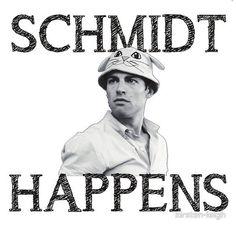 Schmidt happens. @elizabeth haley