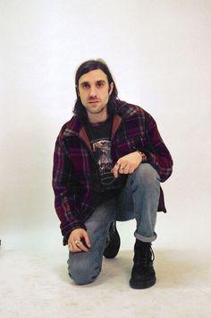 Beyond Retro trend alert! Rebel Grrls & Riot Boys. Photographed by Sahar Gilani #beyondretro #grunge #90sfashion #vintage #leather #90s #kurtandcourtney #nirvana