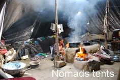Daily life of Nomads in tent. #Tibet tour