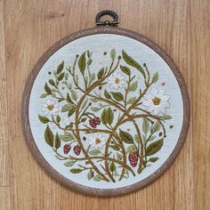 u/Fionnyn on r/cottagecore Wild Strawberries, Alien Logo, Your Design, Machine Embroidery, It Is Finished, Projects, Crafts, Cross Stitches, Internet