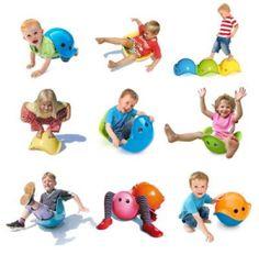 Bilibo moedigt kinderen aan hun eigen spel te creëren, zodat ze spelen en plezier hebben op een actieve en creatieve manier. Of het nu binnen of buiten is, in de zandbak, in het water of in de sneeuw. www.hetrietje.nl €26,99