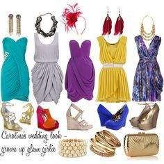 wedding guests - dress bright!