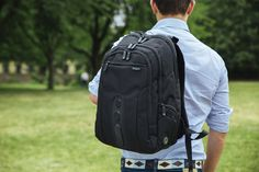 🍃 GO GREEN ♻️ GO ECO Targus Eco Spruce Backpack / laptop bag, designed from recycled material Laptop Bags, Laptop Backpack, Sling Backpack, Go Green, Ecology, Environment, Earth, Backpacks, Nature