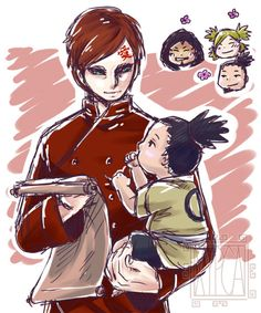 Uncle Gaara And Shikadai by xypca  http://ift.tt/1MZZnOJ